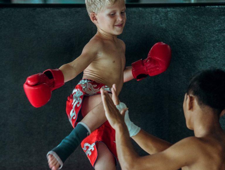 thaibox gyerek edzés